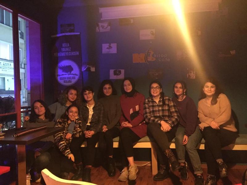 Kadın Hakları Kulübü-Film Gösteriminde Buluşuyoruz