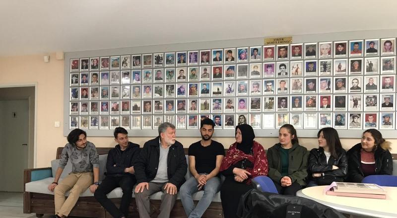 Marmara Sinerji Kulübü-Şehit Aileleri Ziyareti