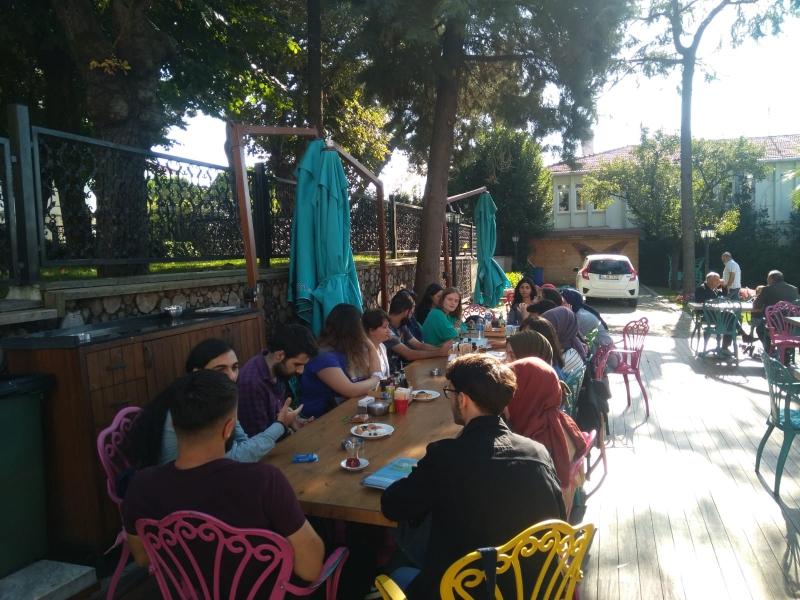 Marmara Sosyoloji Topluluğu Kulübü-Tanışma Kahvesi