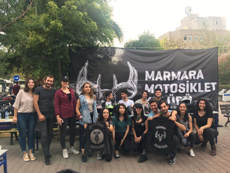 Motosiklet Kulübü-Marmara Motosiklet Kulübü Tanıtım Standı