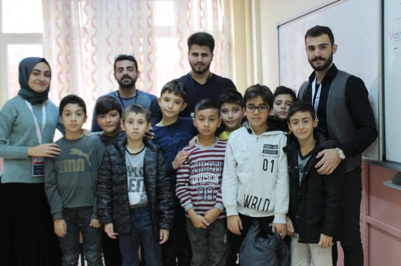 Akademik Düşünce Eğitim ve Medeniyet (ADEM) Kulübü-Geleceğin Eğitimcileri Pusula Okuma Kulübü Öğrencileriyle Buluşuyor