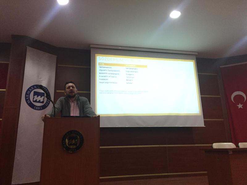 Marmara Sosyoloji Topluluğu Kulübü-Sözdebilimler Toplumları Nasıl Etkiliyor?